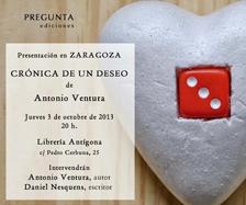 cronica de un deseo el dia 3 10 2012 a las 20 00 horas en ...