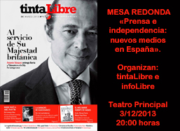 revista tintalibre y diario digital infolibre mesa redonda ...